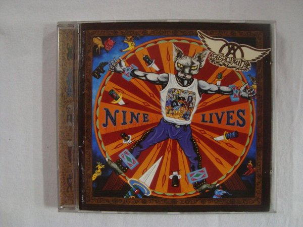 CD Aerosmith - Nine Lives