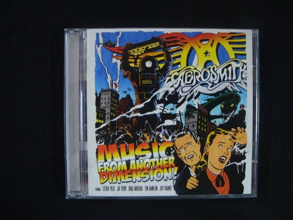 CD Aerosmith - Music from Another Dimension !
