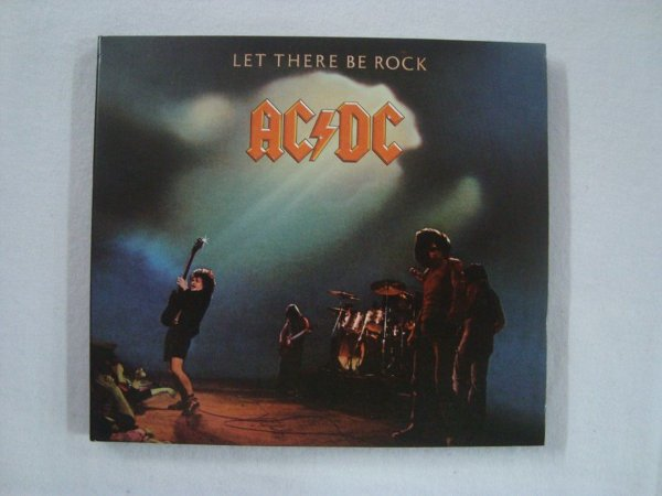 CD AC DC - Let there Be Rock