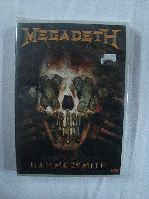 DVD Megadeth - Odeon 1992 - Hammersmith