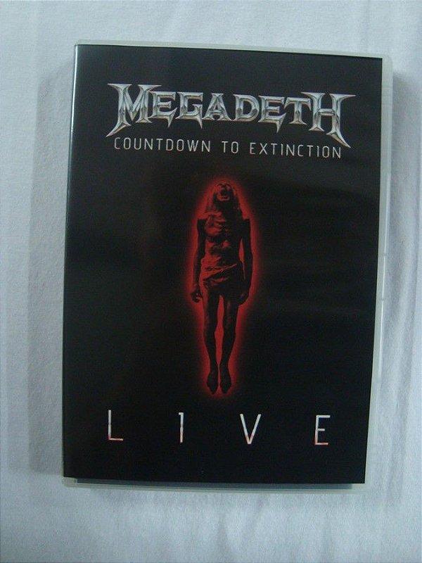 DVD Megadeth - Countdown to Extinction Live