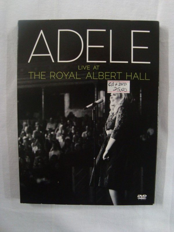 Adele - Live at the Royal Abert Hall - CD + DVD