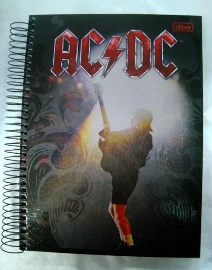 Caderno Escolar - AC DC