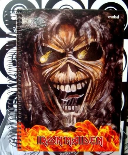Caderno Escolar - Iron Maiden