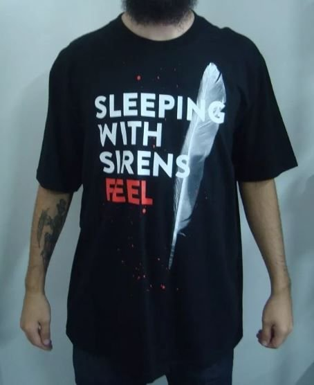 Camiseta Sleeping with Sirens - Feel