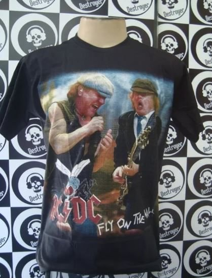 Camiseta AC DC - Fly on the Wall