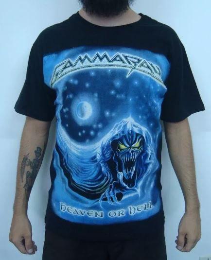 Camiseta Gammaray - Heaven or Hell