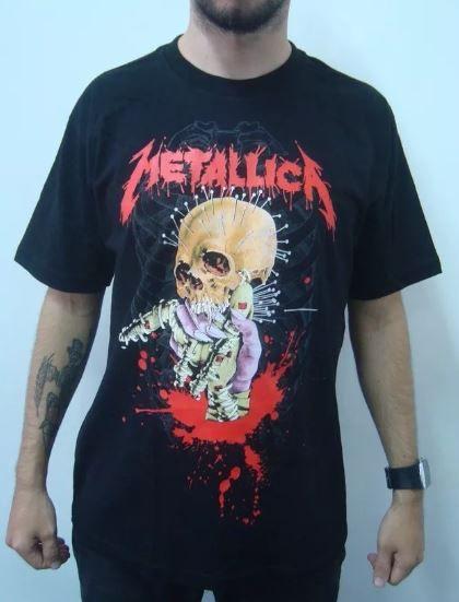 Camiseta Metallica - Death Magnetic Skull