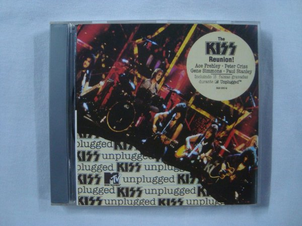 CD Kiss - Unplugged (millennium) - The Kiss reunion