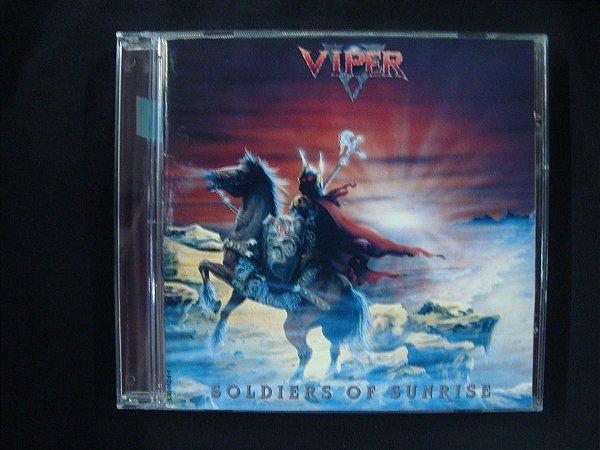 CD Viper - Theatre of Fate + Soldiers of Sunrise - 2 em 1