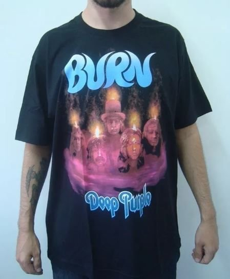 Camiseta Deep Purple - Burn