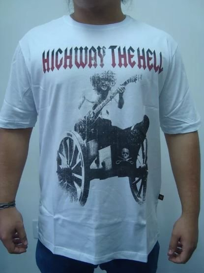 Camiseta AC DC - Highway the Hell