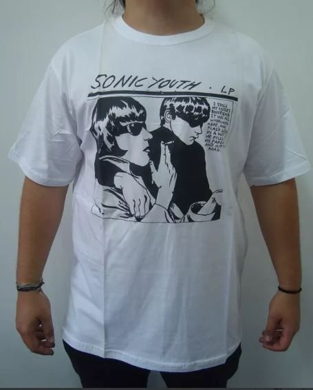 Camiseta Sonic Youth - LP