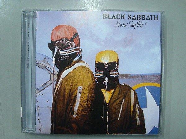 CD Black Sabbath - Never Say DIe