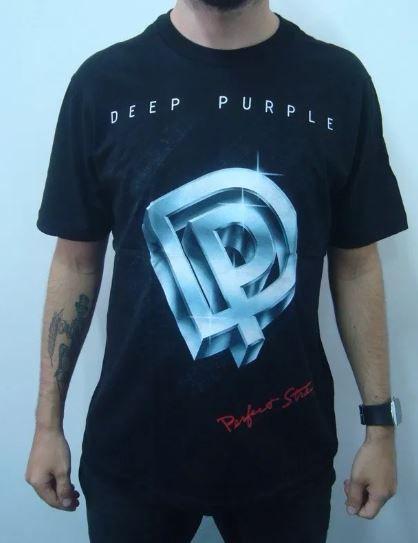 Camiseta Deep Purple - Perfect Strangers
