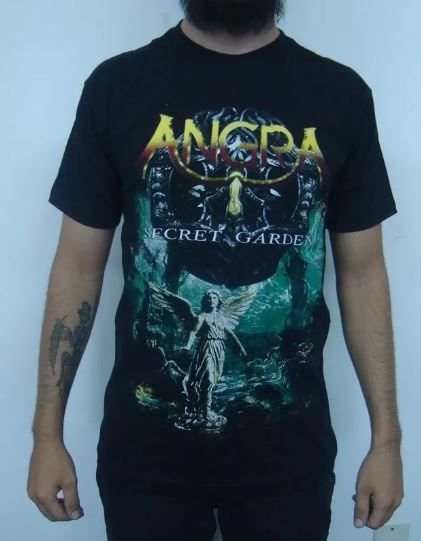 Camiseta Angra - Secret Garden