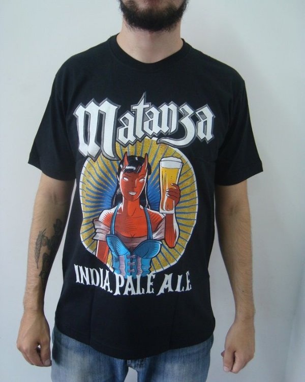 Camiseta Matanza - India Pale Ale