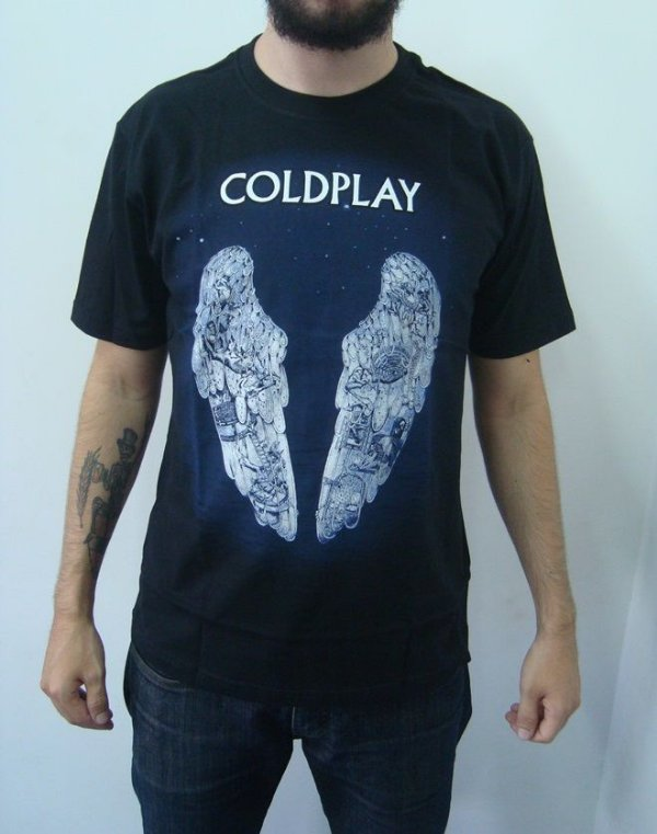 Camiseta Coldplay - Ghost Stories