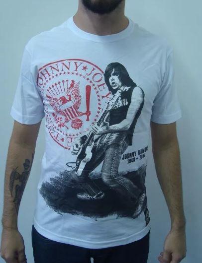 Camiseta Ramones - Johnny Ramone - 1948 - 2004