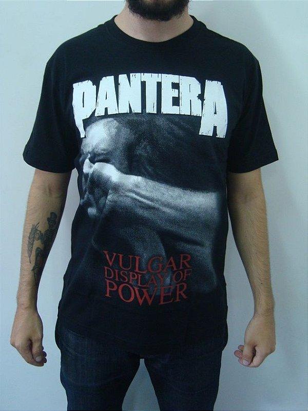 Camiseta Pantera - Vulgar display of power