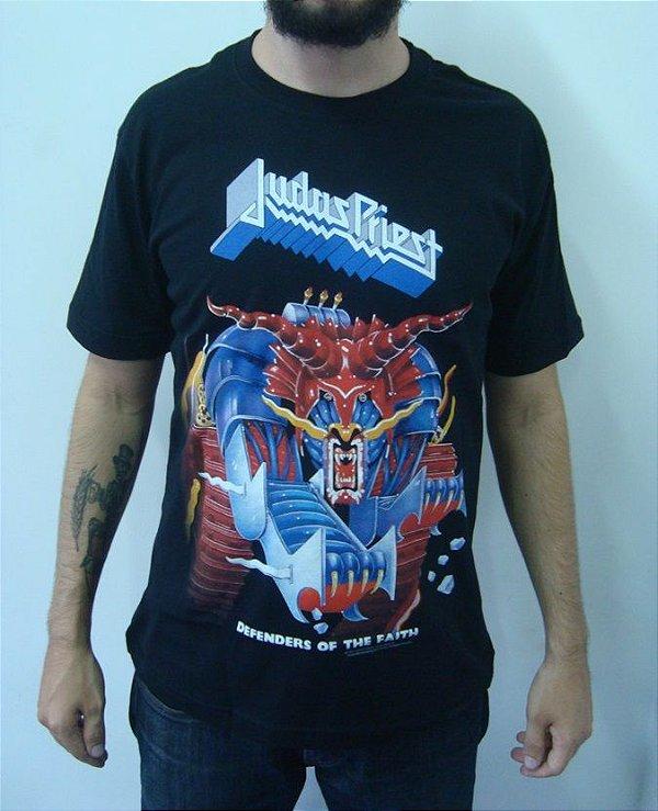 Camiseta Judas Priest - Defenders of the Faith