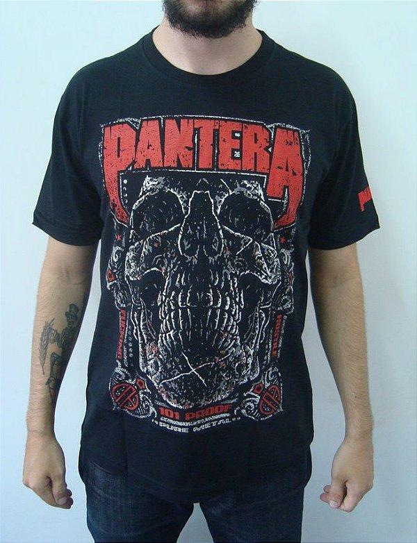 Camiseta Pantera - 101 Proof - Pure metal