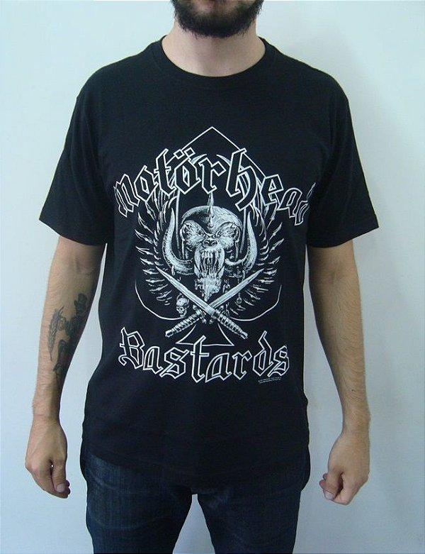 Camiseta Motorhead - Bastards