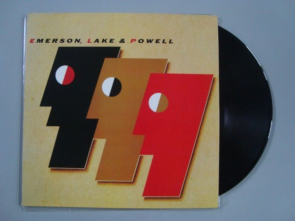Disco de vinil - Emerson, Lake & Powell