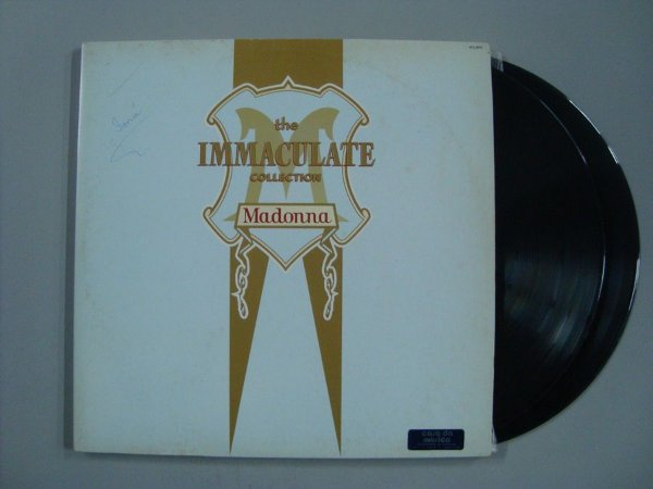 Disco de vinil - Madonna - The Immaculate Collection (duplo)