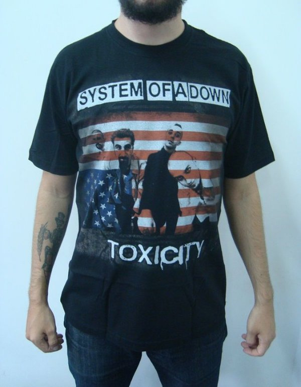 Camiseta System of a Down - Toxicity - Loja Destroyer e98c8a30eec47