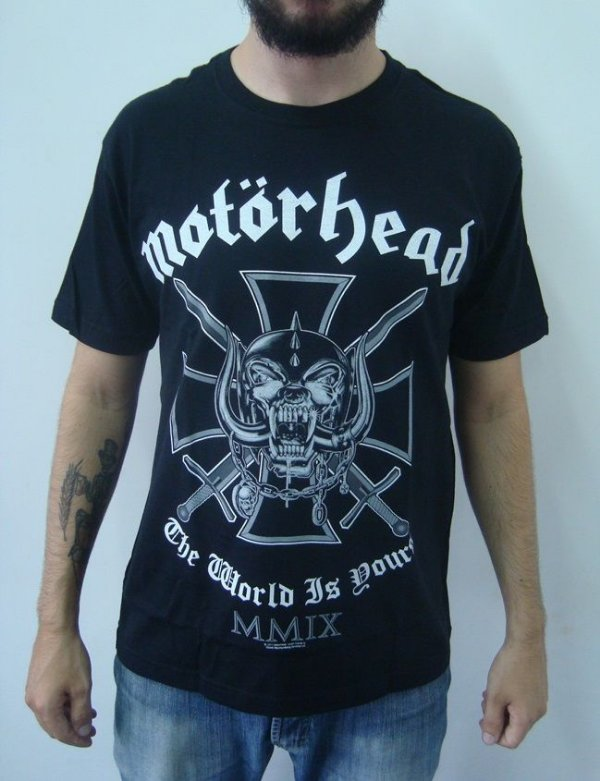 Camiseta Motorhead - The World is Yours - MMIX