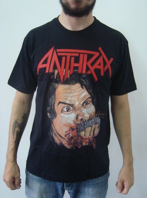 Camiseta Anthrax - Fistful of metal