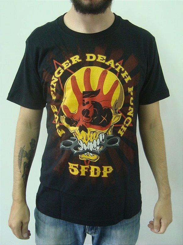 Camiseta Five Finger Death Punch - 5FDP