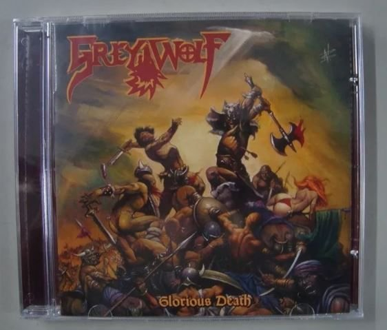 CD Grey Wolf - Glorious Death