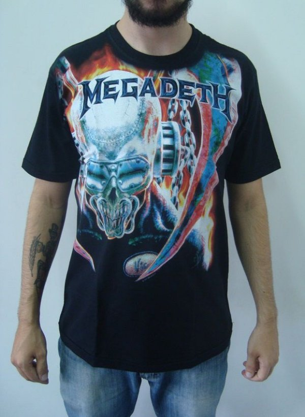 Camiseta Megadeth