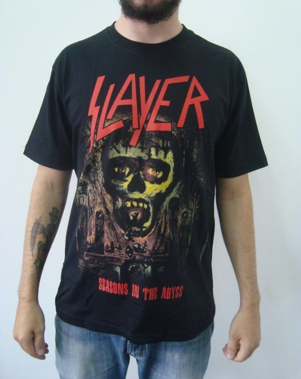 Camiseta Slayer - Seasons in the Abyss