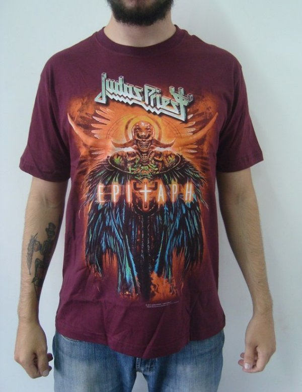 Camiseta Judas Priest - Epitaph