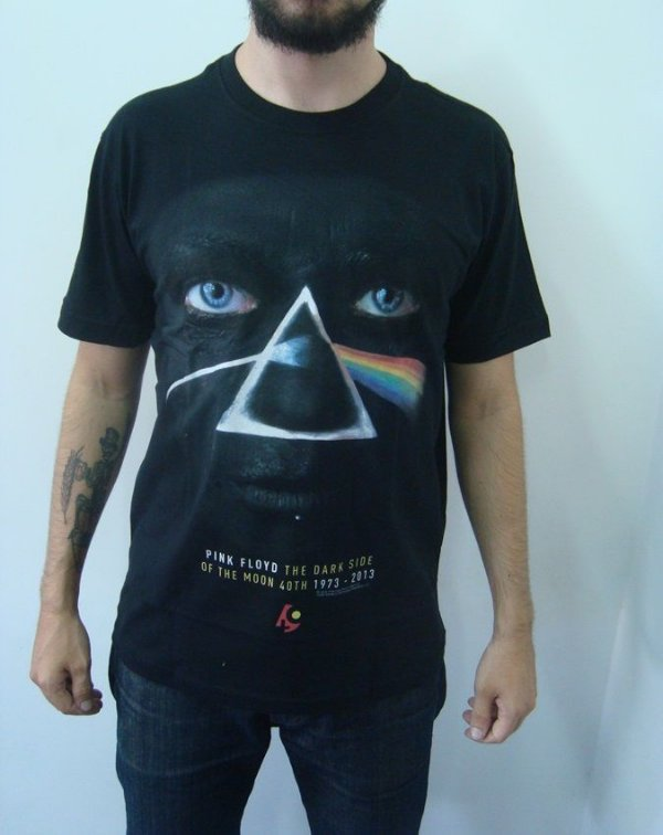 Camiseta Pink Floyd - The Dark Side of the Moon - Rosto