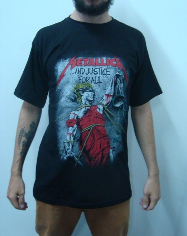 Camiseta Metallica - And Justice for All