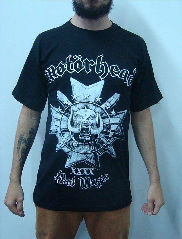 Camiseta Motorhead - Bad Magic