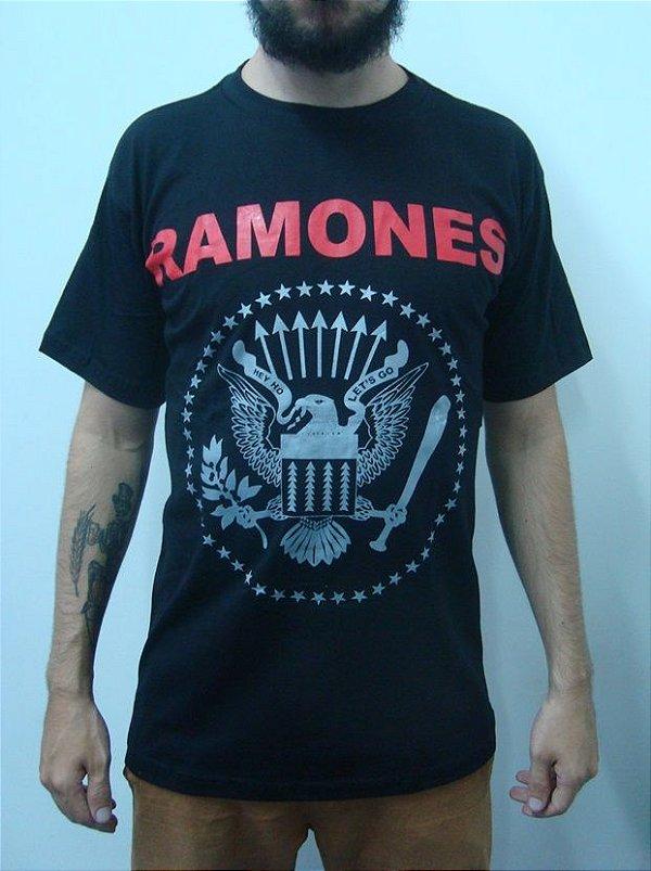 Camiseta Ramones - Símbolo Clássico