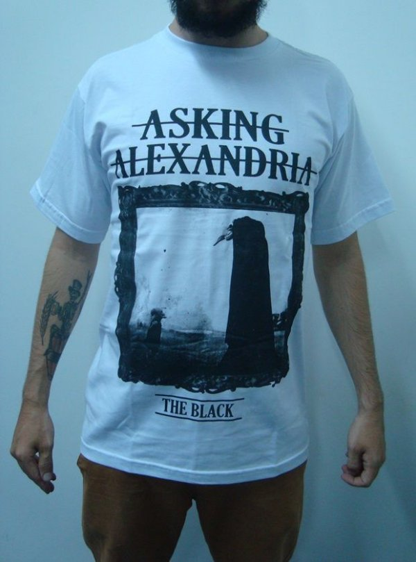 Camiseta Asking Alexandria - The Black