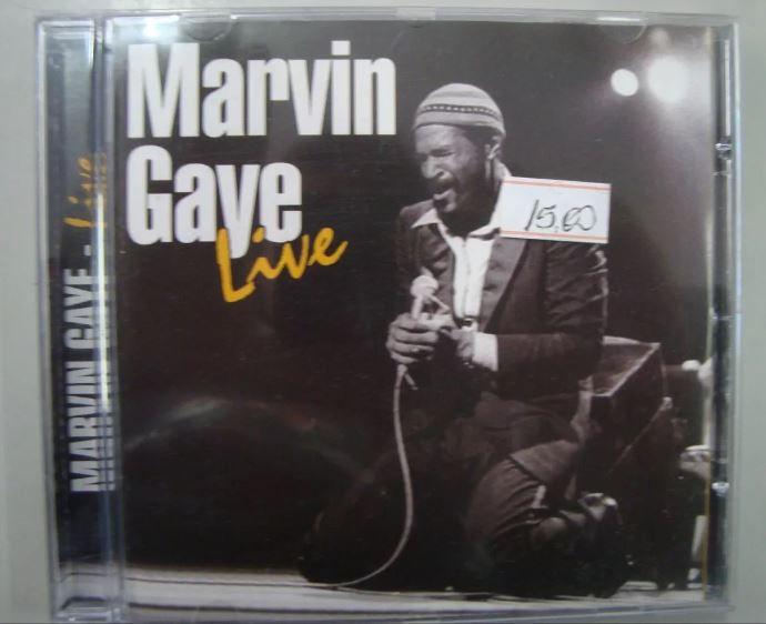 CD Marvin Gayer - Live