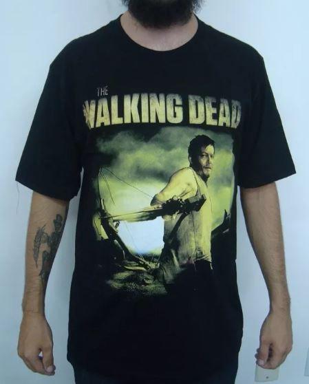 Camiseta The Walking Dead - Daryl Dixon