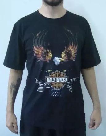 Camiseta Harley Davidson - Águia