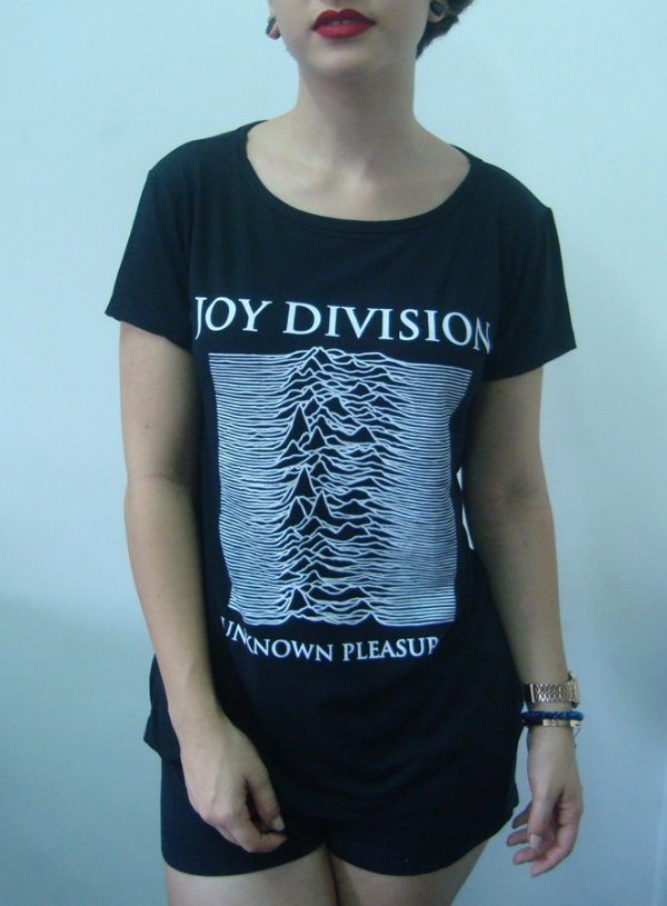 Baby look feminina - Joy Division - Unknow Pleasures