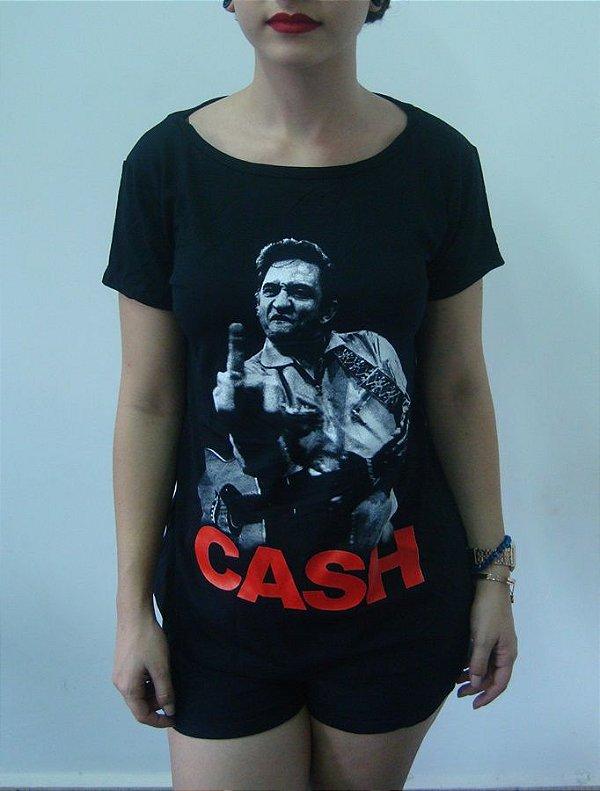 Baby look feminina - Johnny Cash
