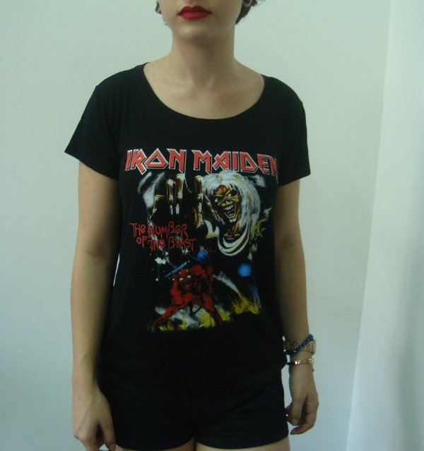 Baby look - Iron Maiden - The number of the Beast
