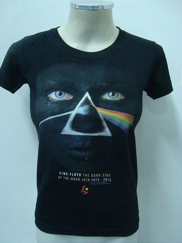 Baby look feminina - Pink Floyd - Dark Side of the Moon 40th