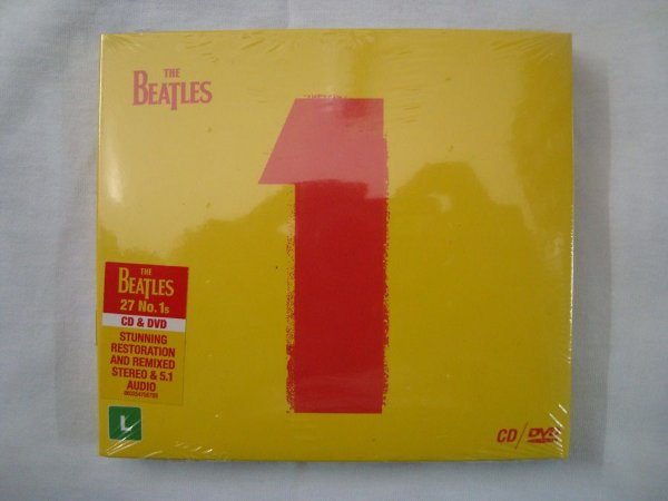 CD + DVD - The Beatles - 1